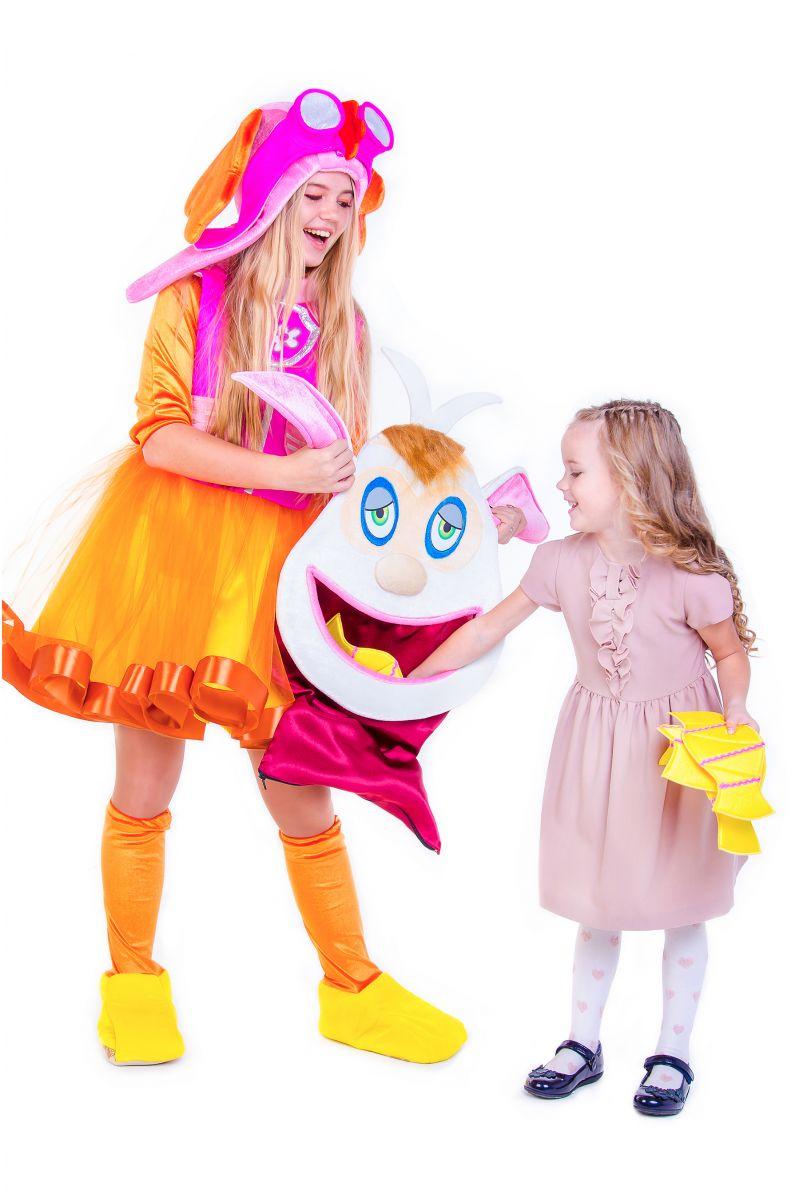 Масочка - «Домовенок Бубу » карнавальный костюм для аниматоров / фото №2655
