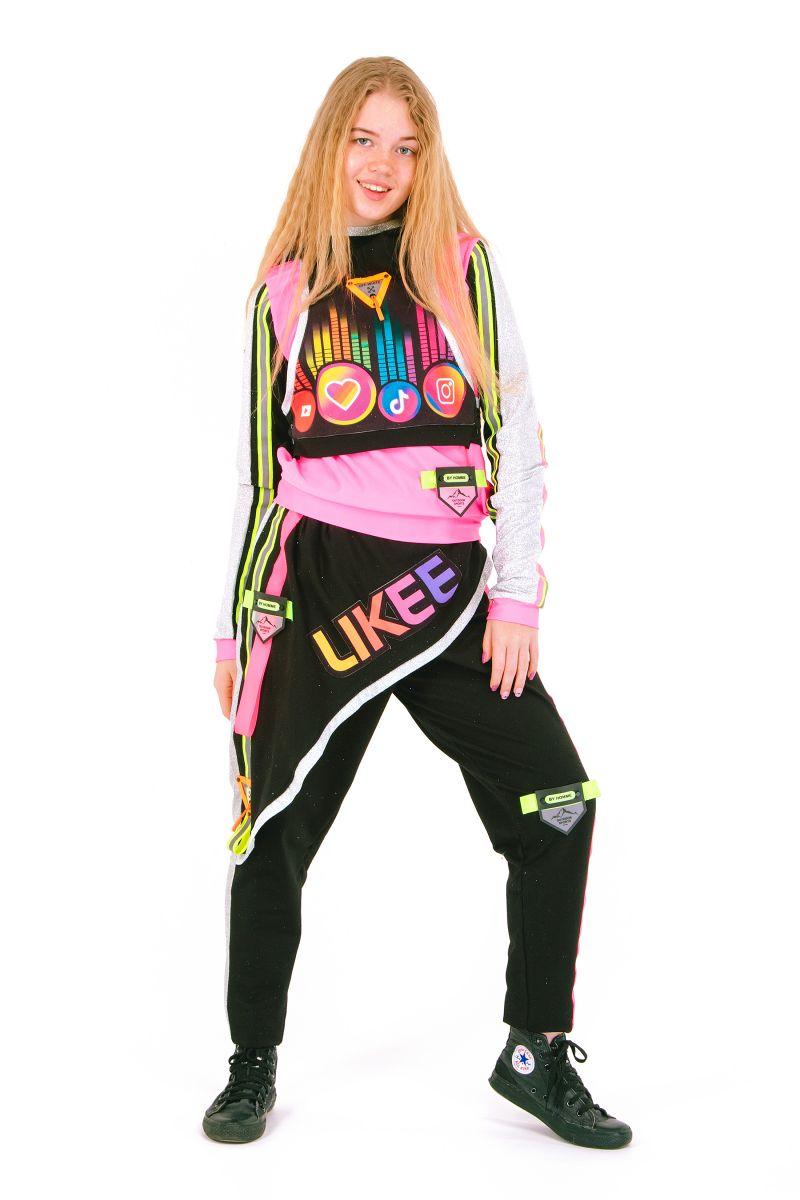 Масочка - «Блогерка» карнавальный костюм для аниматора / фото №2664