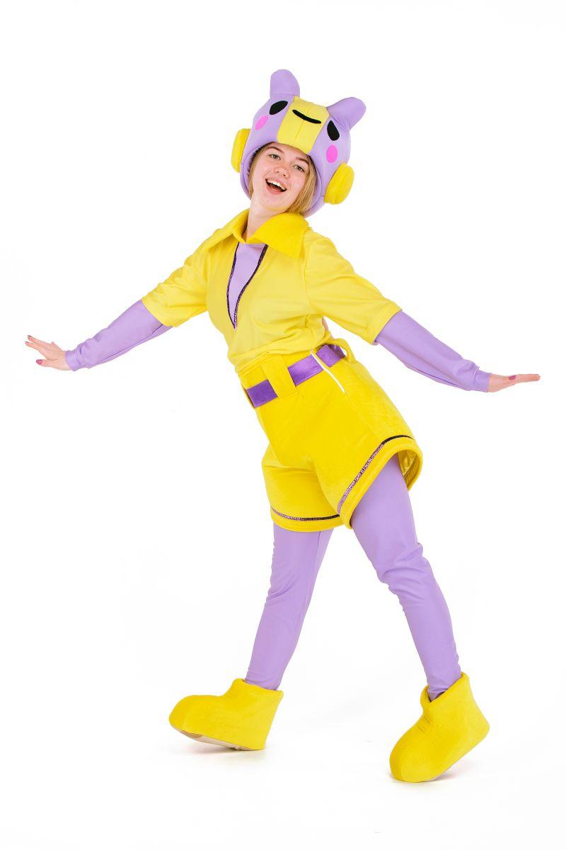 Беа «Brawl Stars» карнавальный костюм для аниматора - Масочка