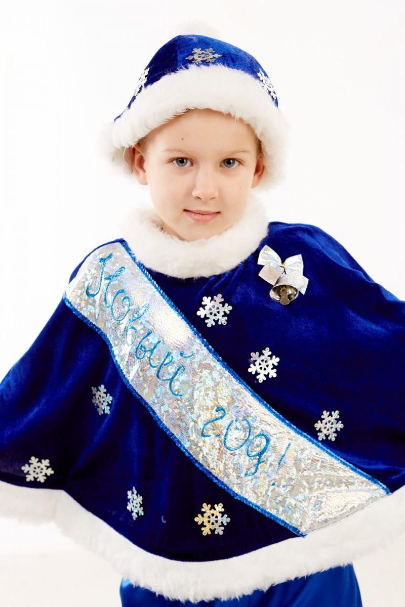 Масочка - «Новый год» карнавальный костюм для мальчика / фото №269