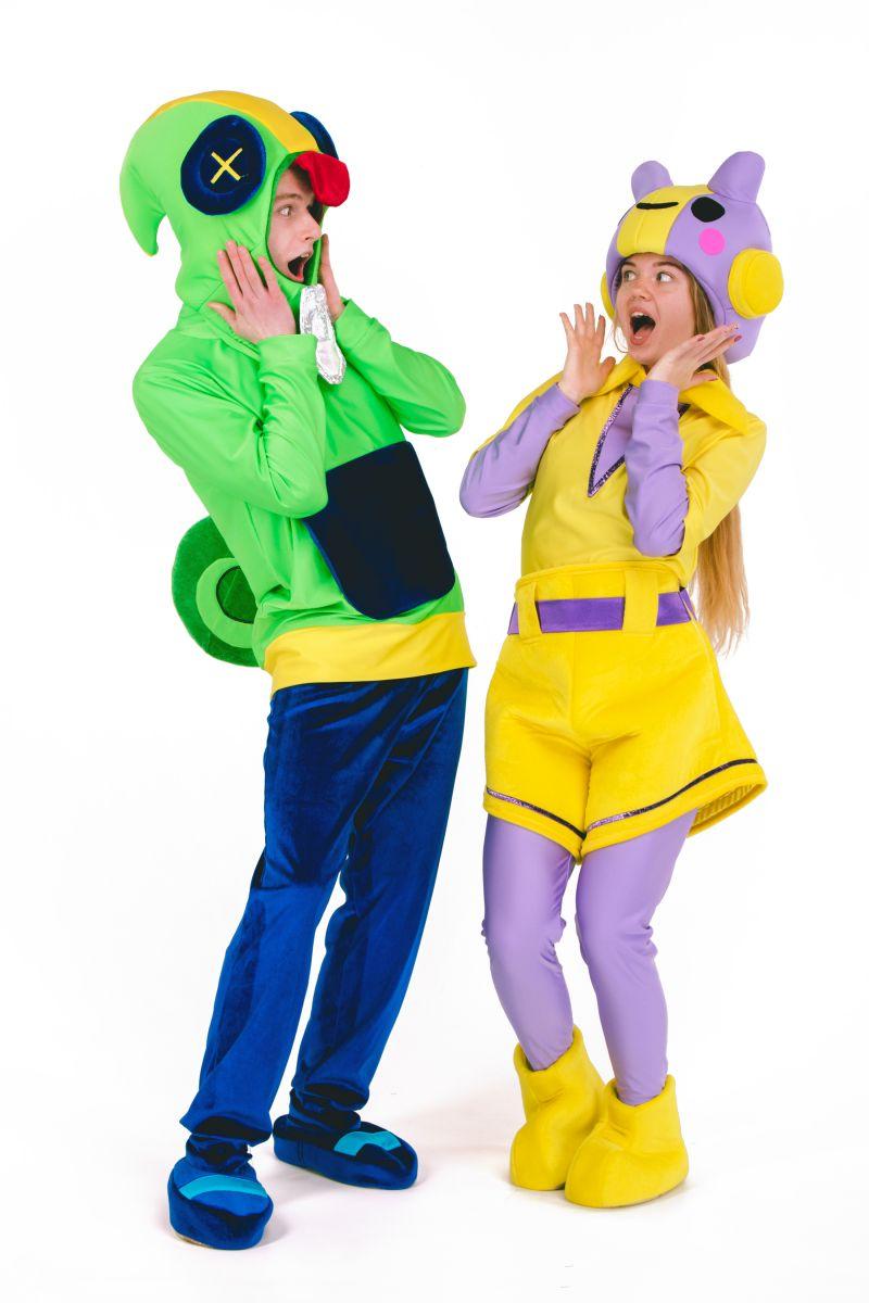 Масочка - Леон «Brawl Stars» карнавальный костюм для анимтора / фото №2691
