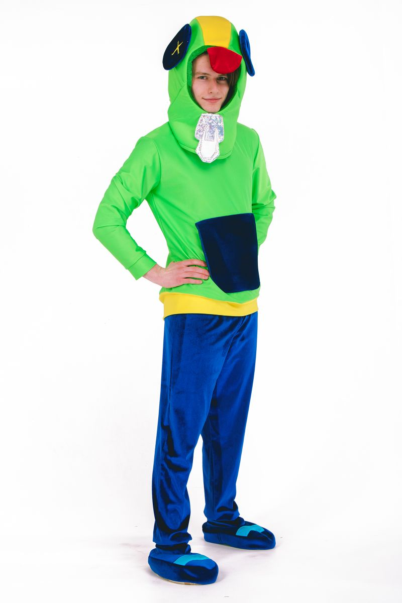 Масочка - Леон «Brawl Stars» карнавальный костюм для анимтора / фото №2692