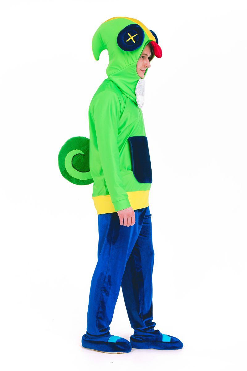 Масочка - Леон «Brawl Stars» карнавальный костюм для анимтора / фото №2694