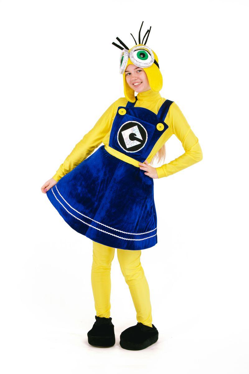 «Миньон девочка» карнавальный костюм для аниматора