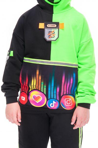 «Блогер зеленый» карнавальный костюм для детей