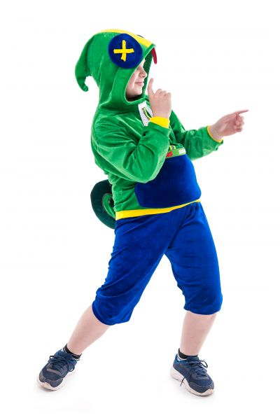 Леон «Brawl Stars» карнавальный костюм для мальчика