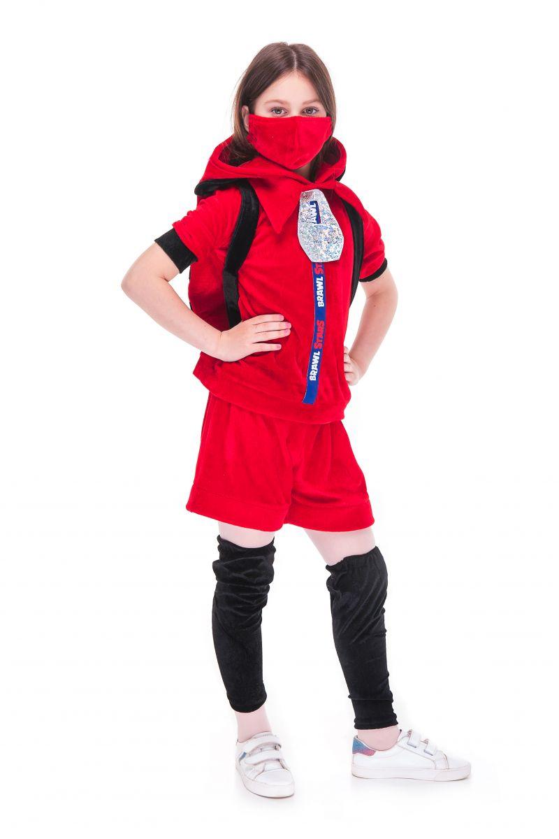 Масочка - Беа Божья коровка «Brawl Stars» карнавальный костюм для девочки / фото №2727