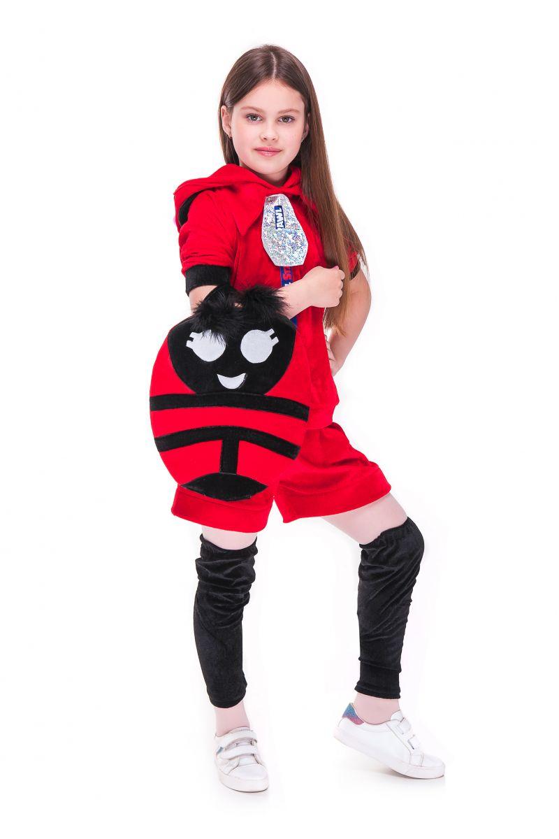 Масочка - Беа Божья коровка «Brawl Stars» карнавальный костюм для девочки / фото №2728