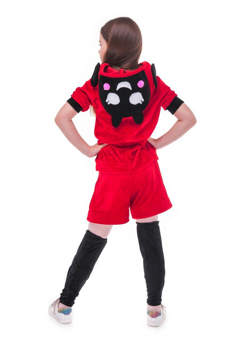 Масочка - Беа Божья коровка «Brawl Stars» карнавальный костюм для девочки / фото №2729