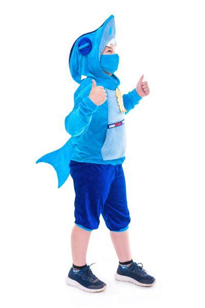 Леон Акула «Brawl Stars» карнавальный костюм для мальчика