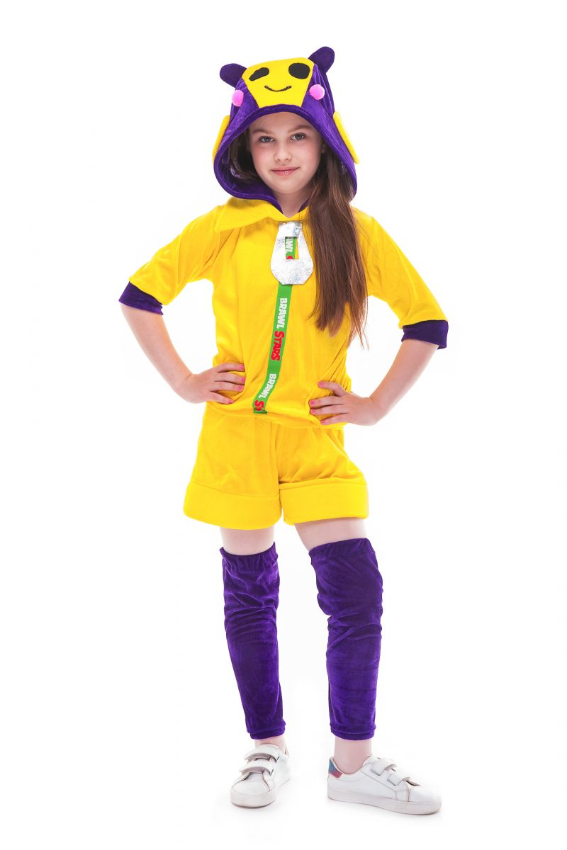 Масочка - Беа Пчелка «Brawl Stars» карнавальный костюм для девочки / фото №2739