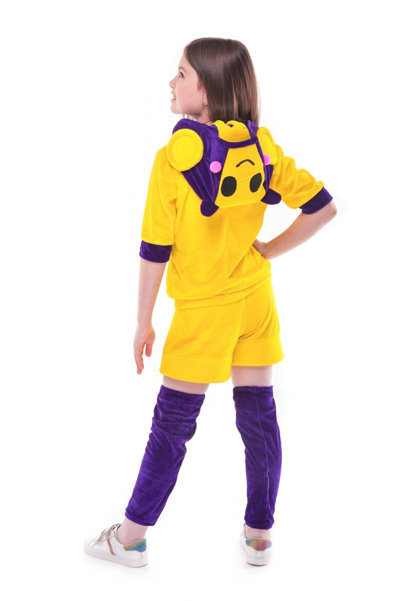 Масочка - Беа Пчелка «Brawl Stars» карнавальный костюм для девочки / фото №2741