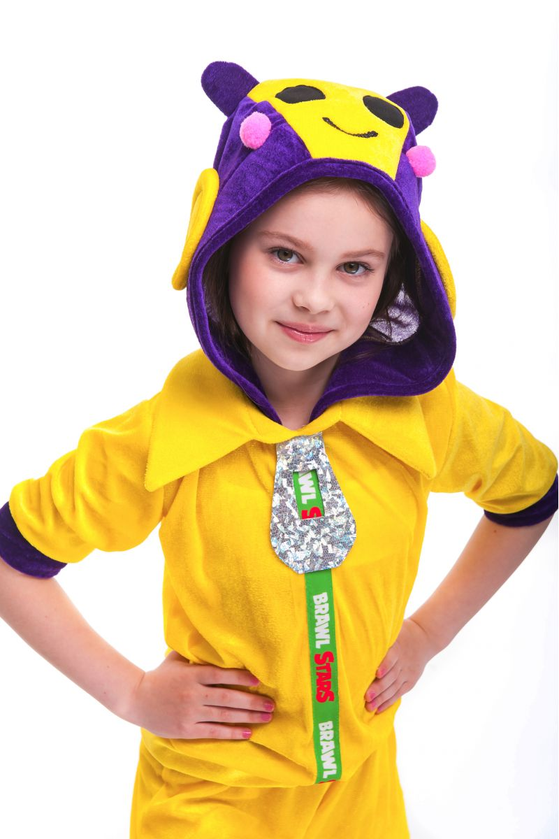 Масочка - Беа Пчелка «Brawl Stars» карнавальный костюм для девочки / фото №2743