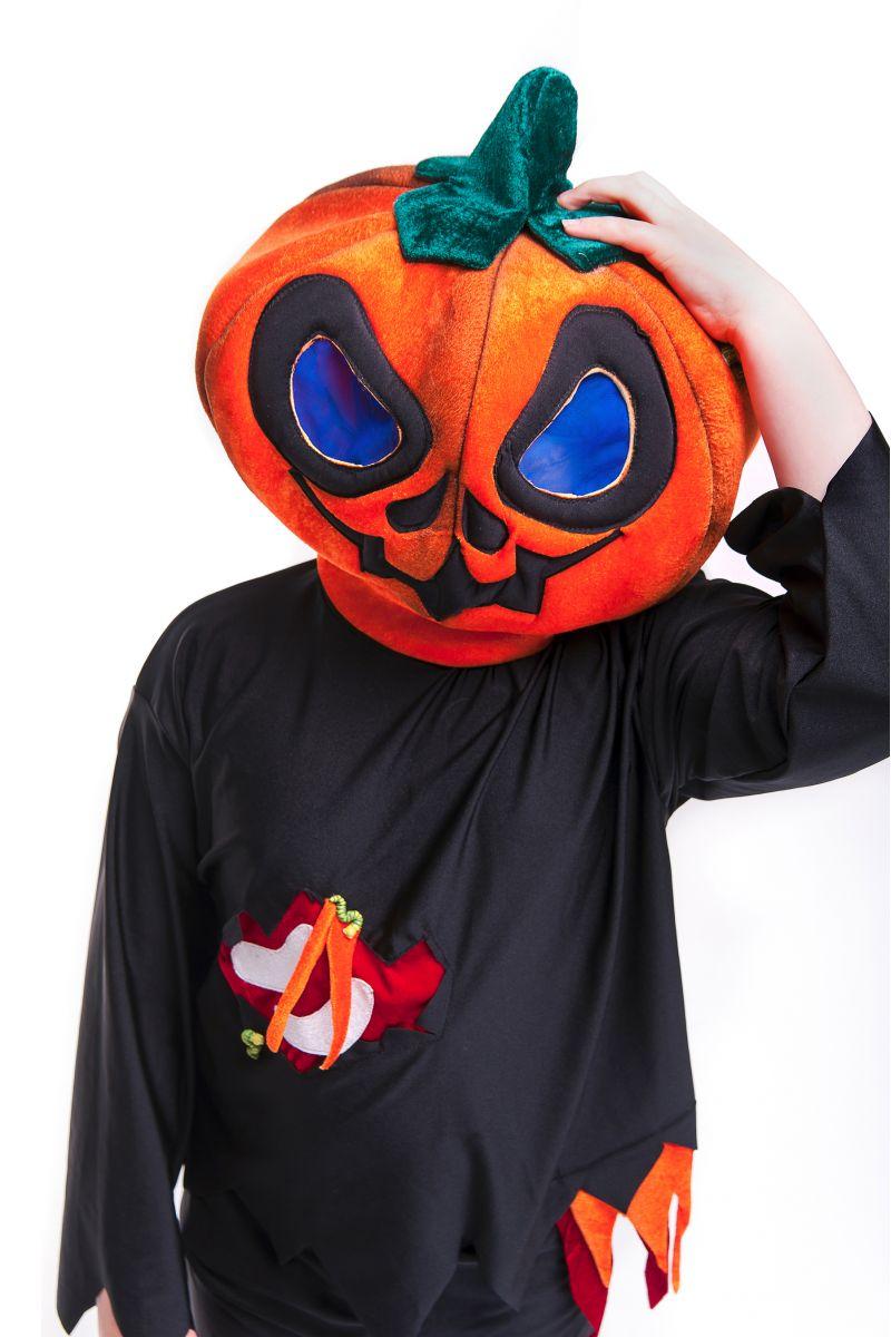 Масочка - «Страшная тыква» карнавальный костюм для мальчика / фото №2748