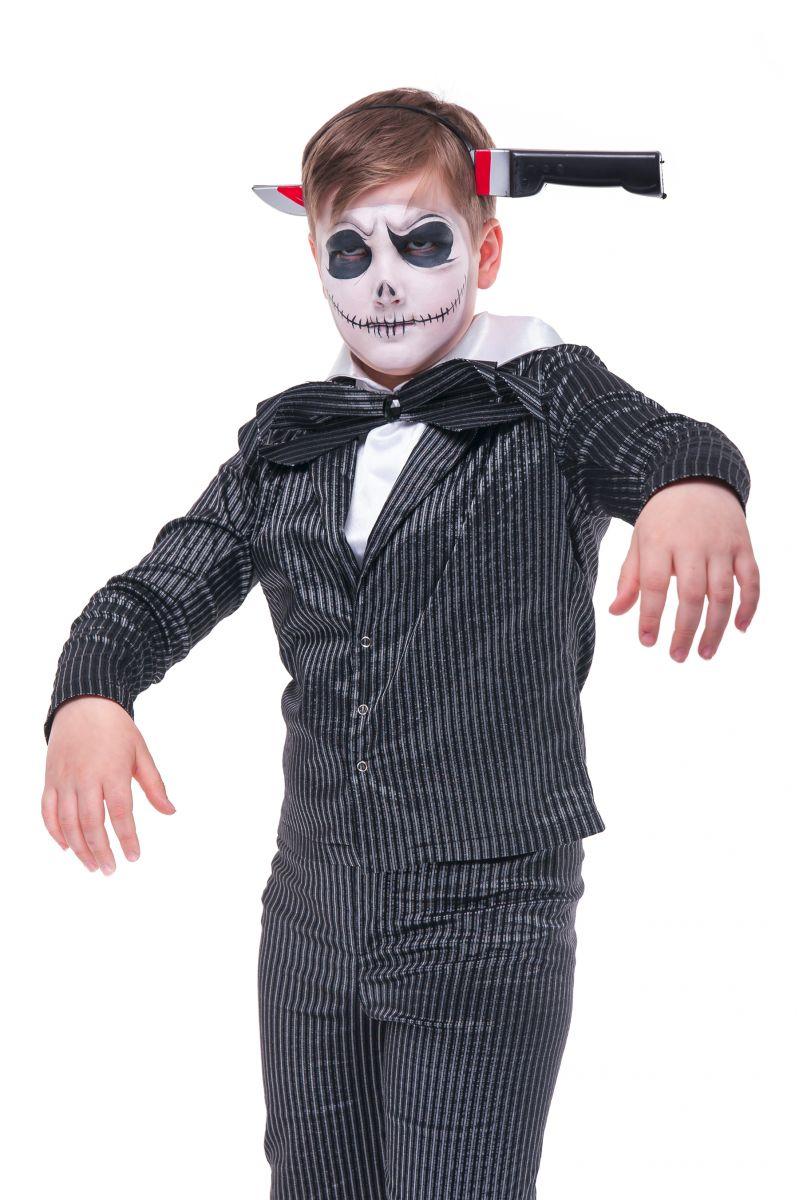 Масочка - «Мертвый жених» карнавальный костюм для мальчика / фото №2753