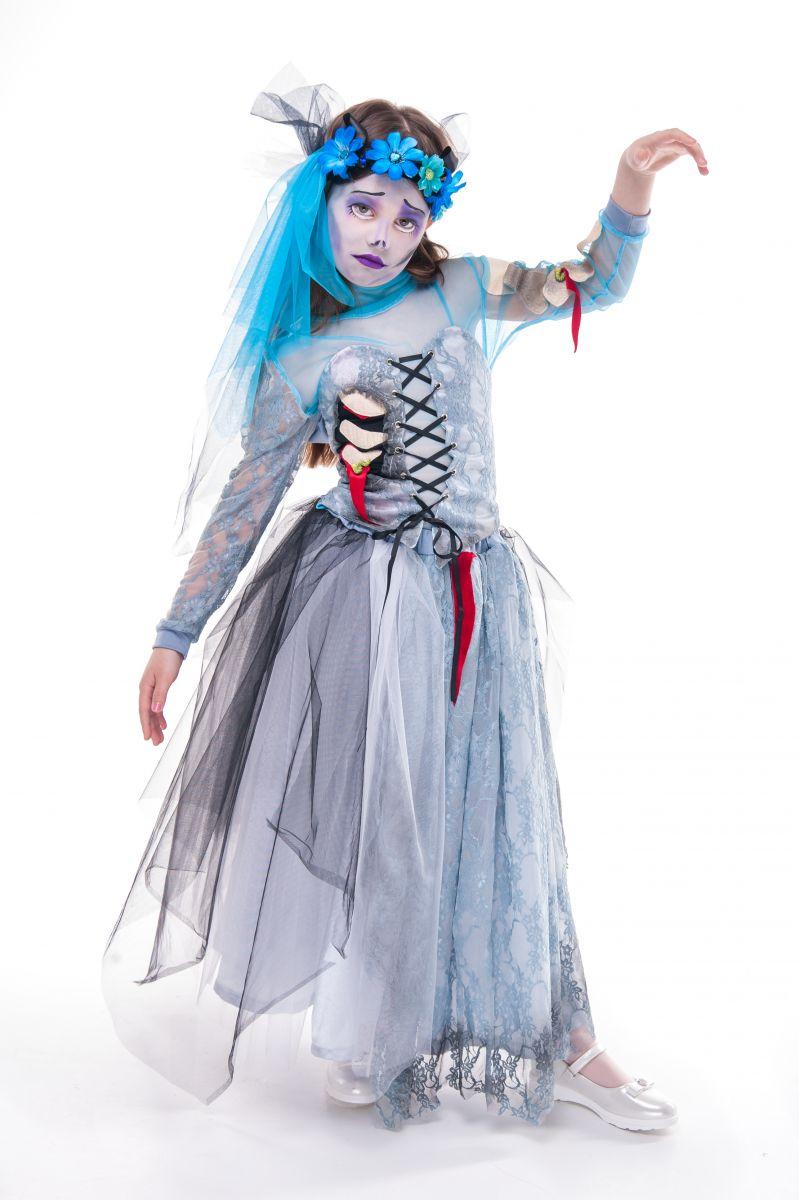 «Мертвая невеста» карнавальный костюм для девочки