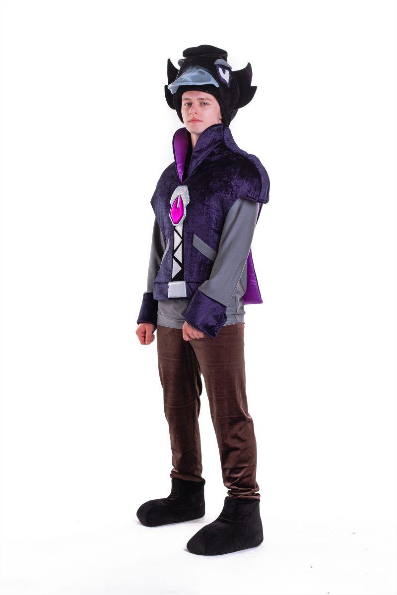 Масочка - Ворон «Brawl Stars» карнавальный костюм для аниматора / фото №2767