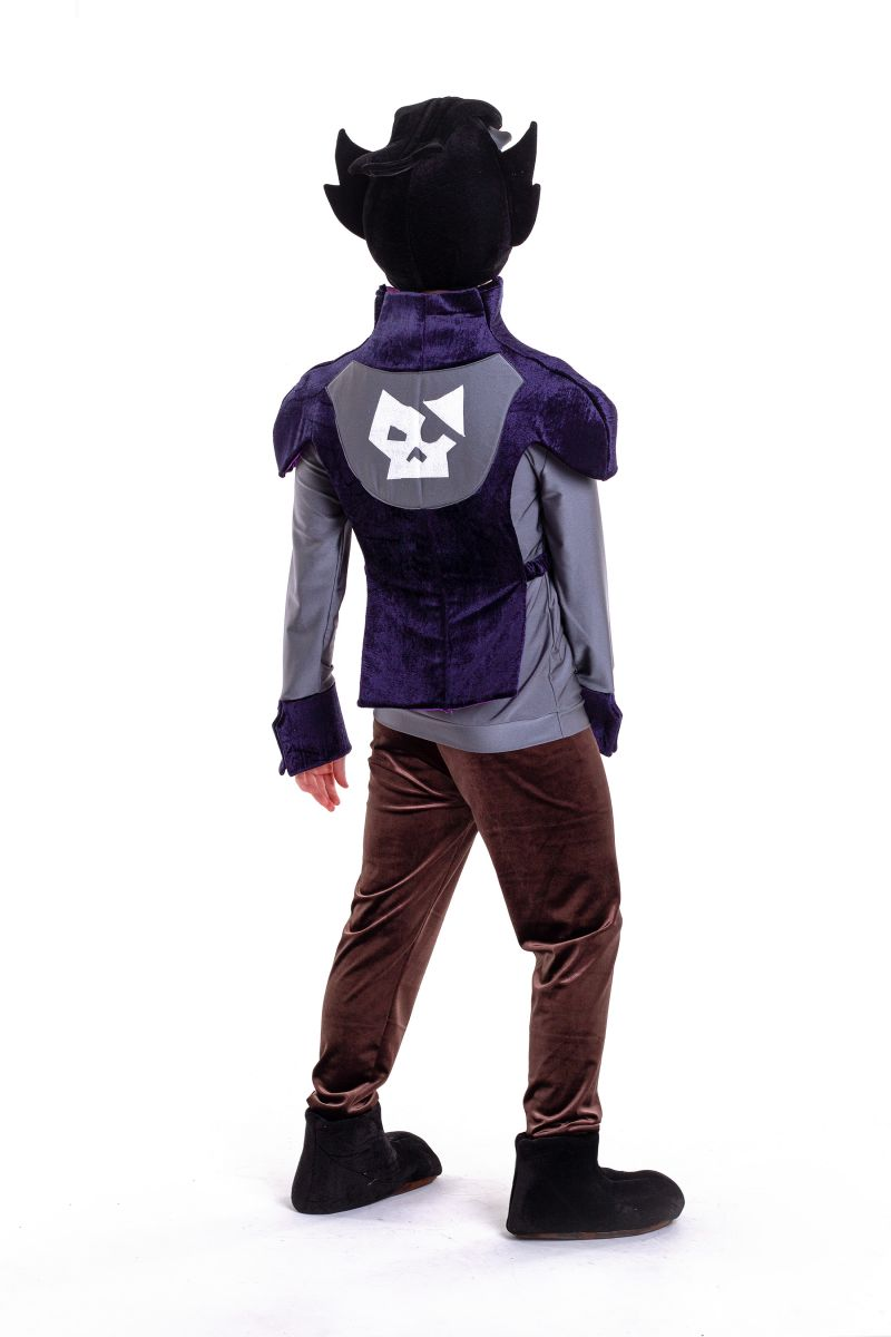 Масочка - Ворон «Brawl Stars» карнавальный костюм для аниматора / фото №2768
