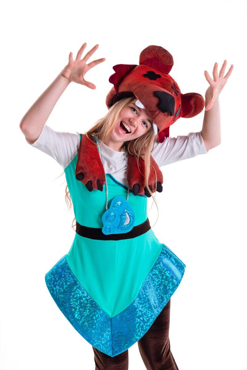 Масочка - Нита «Brawl Stars» карнавальный костюм для аниматора / фото №2778