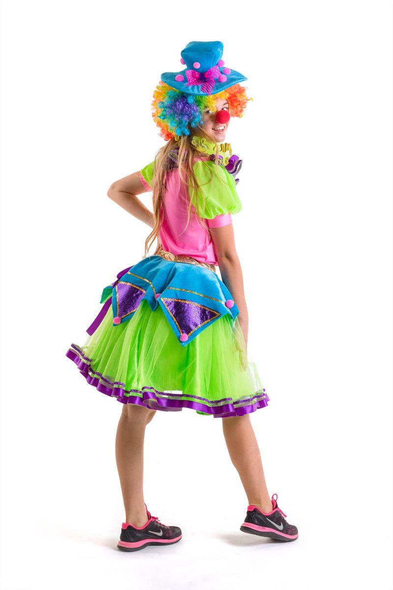 Масочка - Клоунесса карнавальный костюм для взрослых / фото №2781