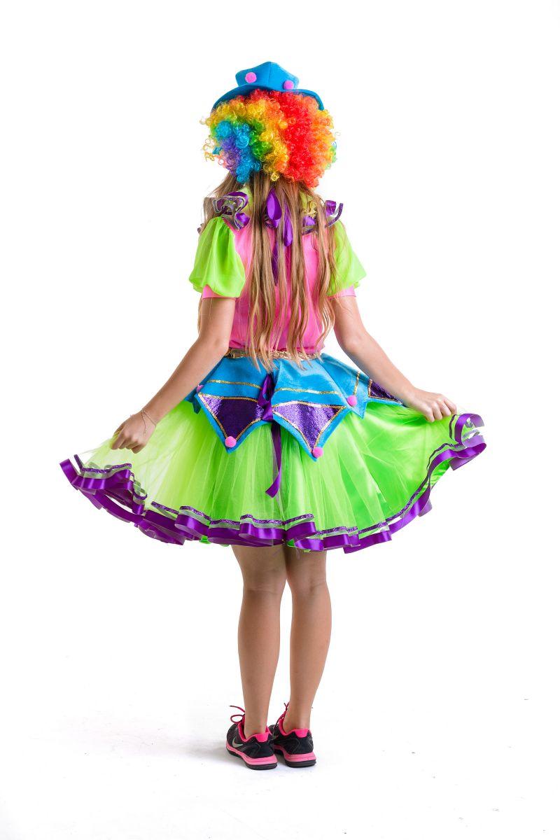 Масочка - Клоунесса карнавальный костюм для взрослых / фото №2783