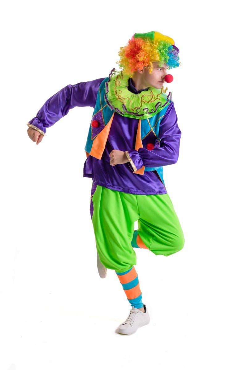 Масочка - «Клоун» карнавальный костюм для аниматоров / фото №2792