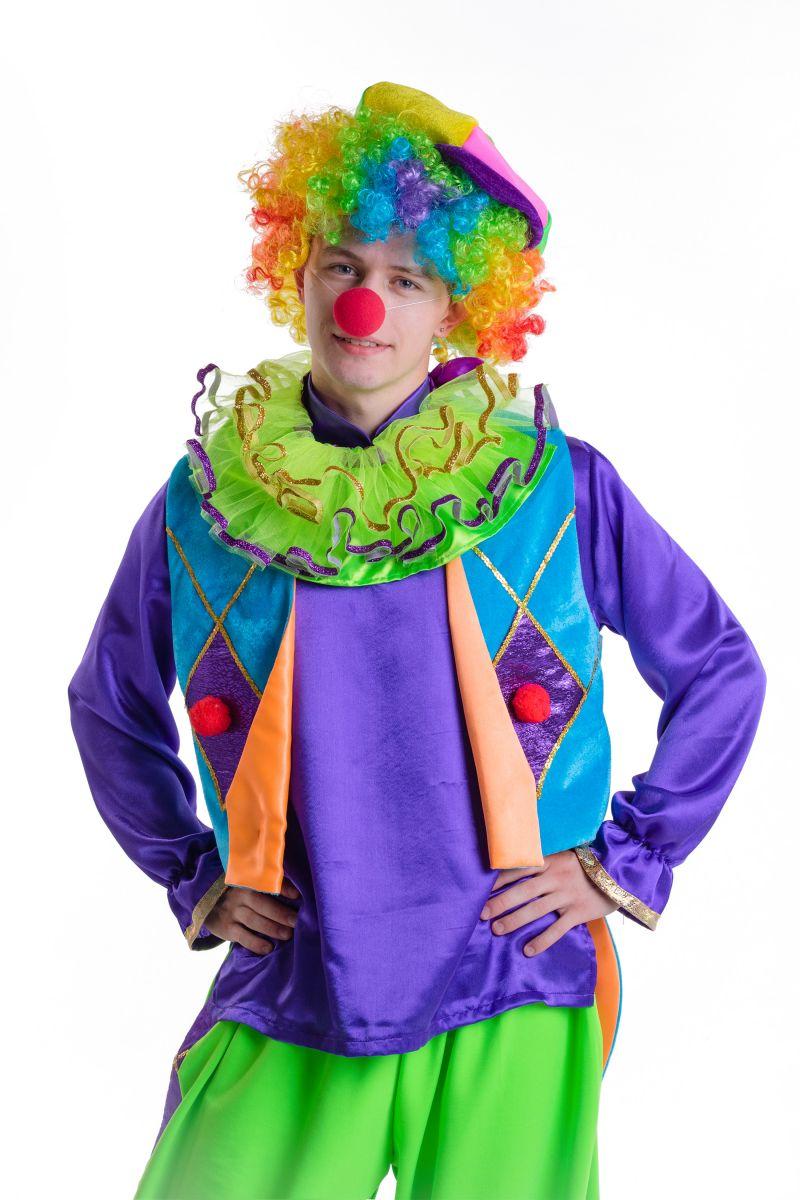 Масочка - «Клоун» карнавальный костюм для аниматоров / фото №2794