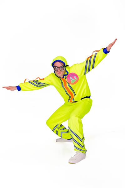 Химик «Научная вечеринка» карнавальный костюм для аниматоров