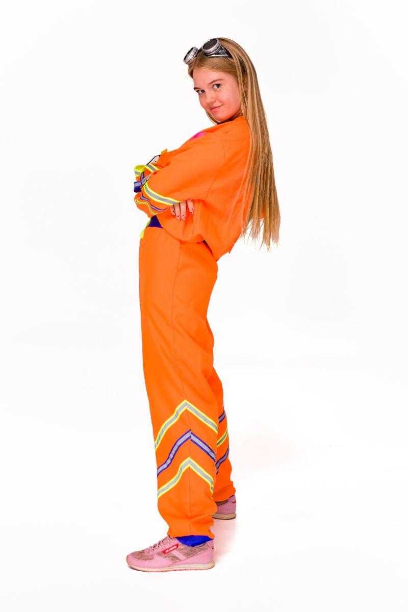 Масочка - Химик девочка «Научная вечеринка» карнавальный костюм для аниматоров / фото №2827