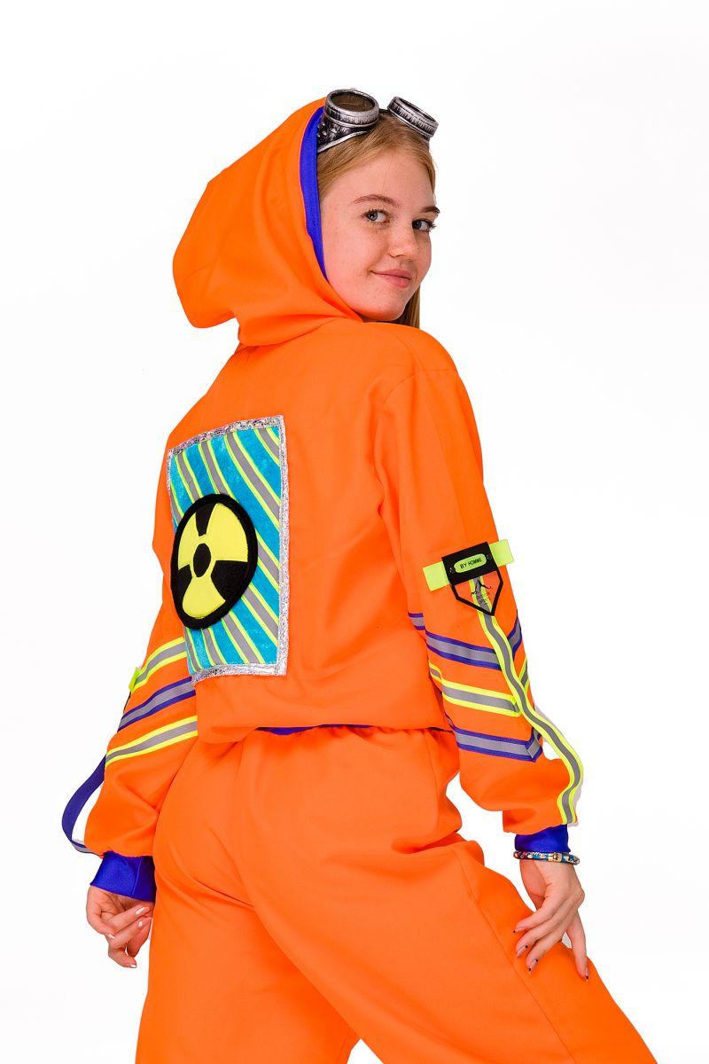 Масочка - Химик девочка «Научная вечеринка» карнавальный костюм для аниматоров / фото №2829