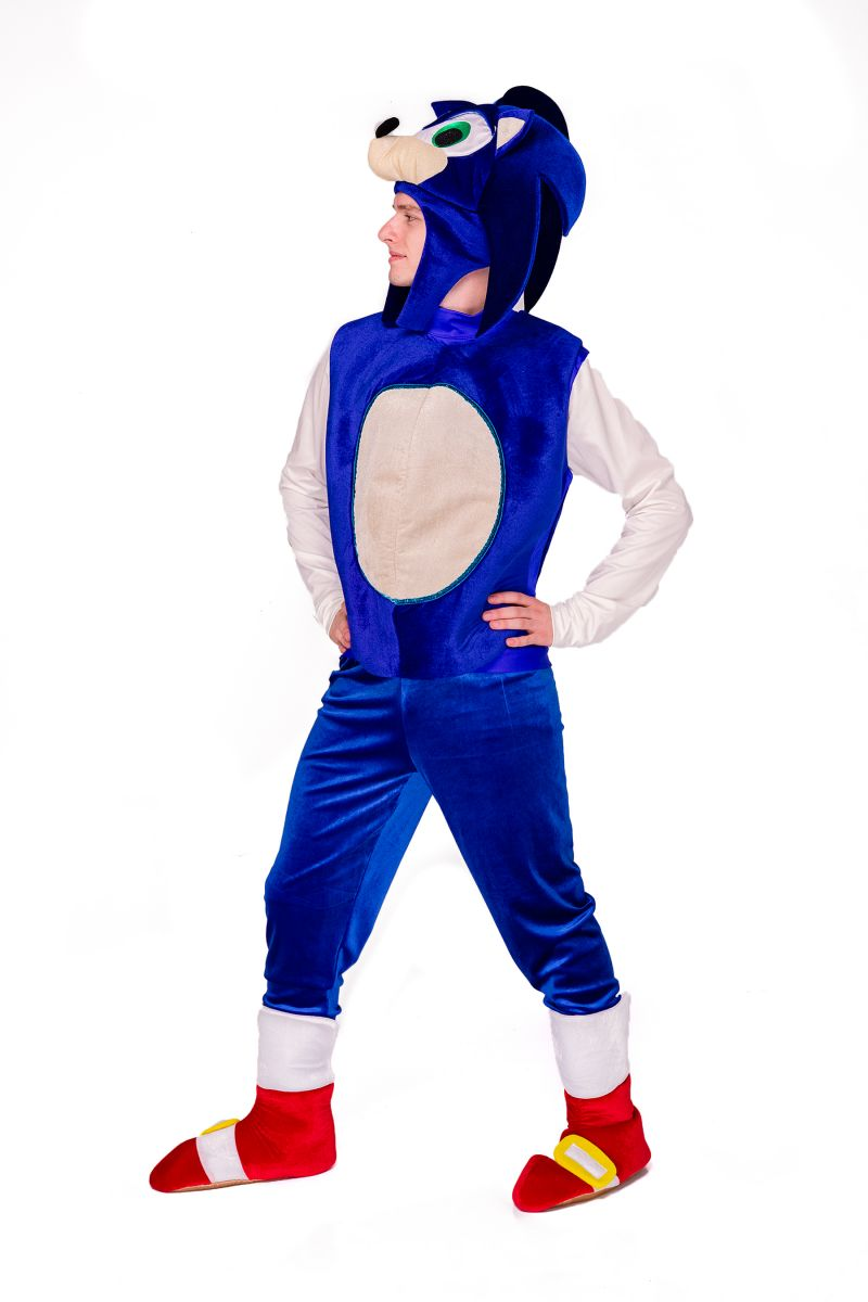 Масочка - Соник «Sonic» карнавальный костюм для аниматоров / фото №2830