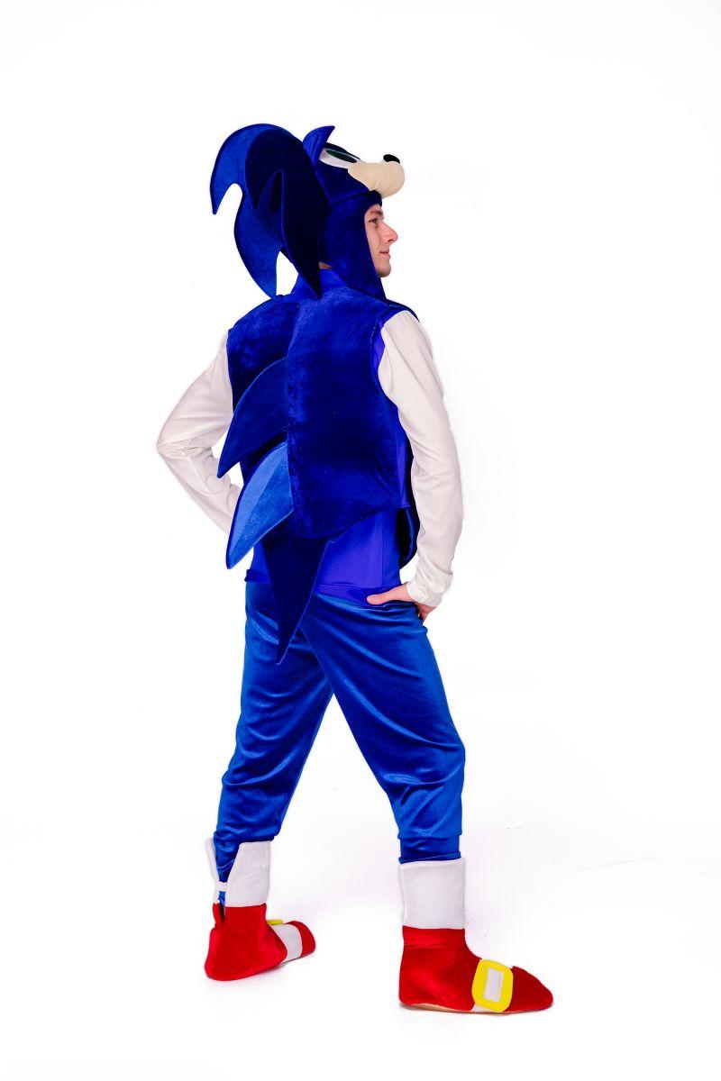 Масочка - Соник «Sonic» карнавальный костюм для аниматоров / фото №2831