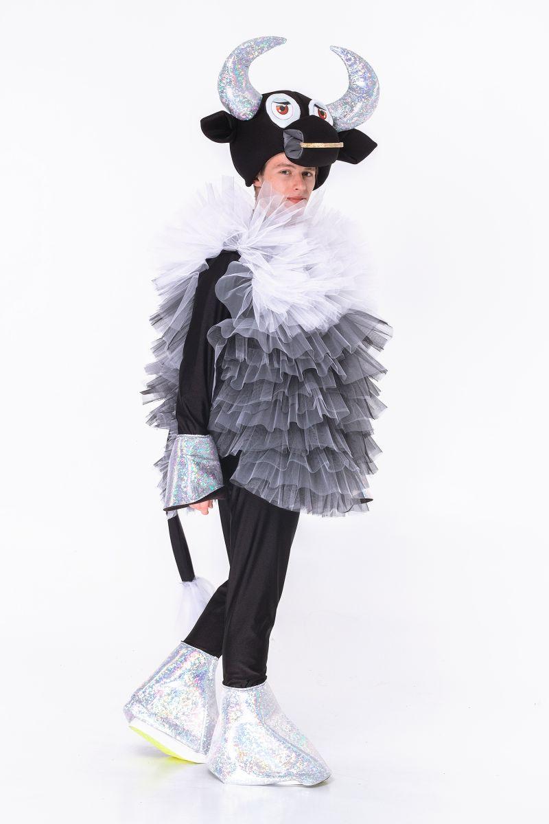 Масочка - Бычок «Серебряное копытце » карнавальный костюм для аниматоров / фото №2841