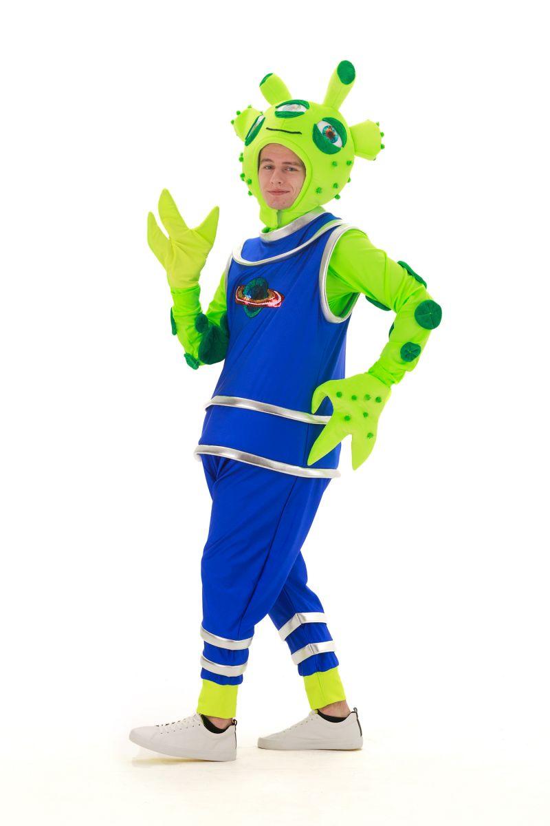 Масочка - «Инопланетянин» карнавальный костюм для аниматоров / фото №2888