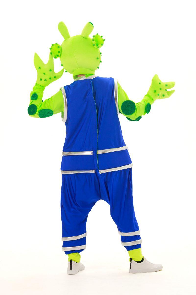 Масочка - «Инопланетянин» карнавальный костюм для аниматоров / фото №2889