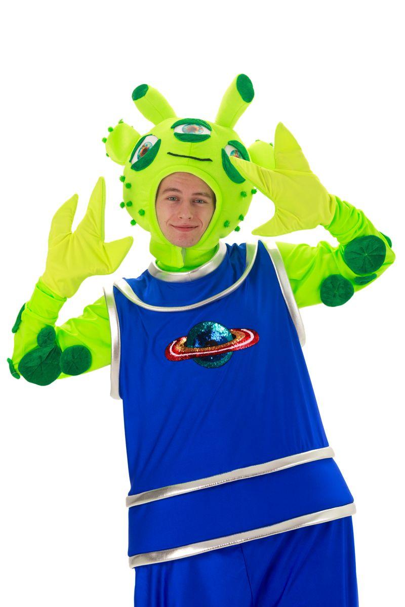 Масочка - «Инопланетянин» карнавальный костюм для аниматоров / фото №2890
