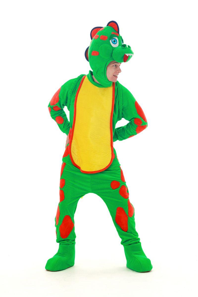 Масочка - «Динозаврик Тоша» карнавальный костюм для аниматоров / фото №2893