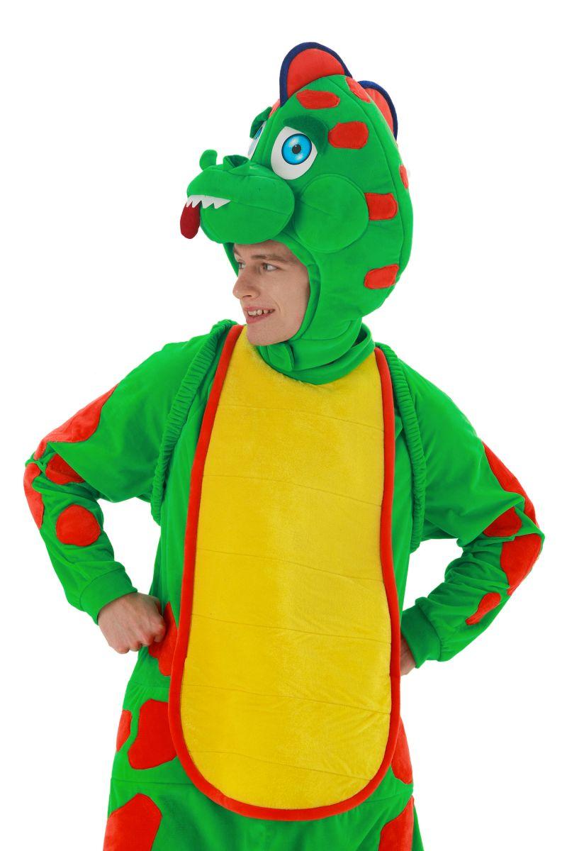Масочка - «Динозаврик Тоша» карнавальный костюм для аниматоров / фото №2894