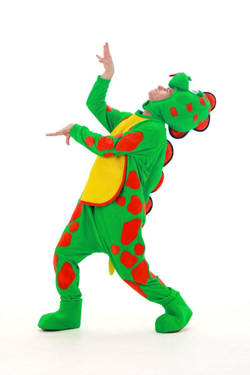 «Динозаврик Тоша» карнавальный костюм для аниматоров