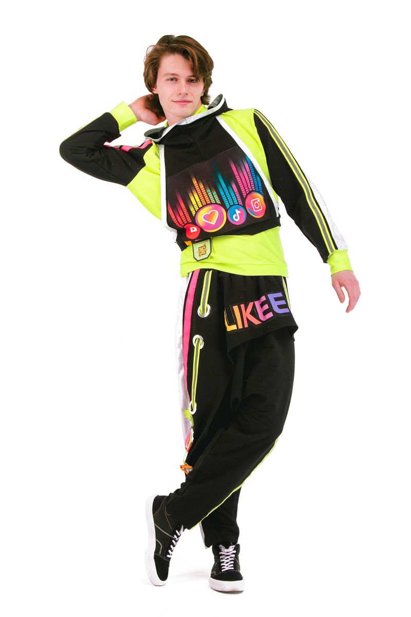 Масочка - «Блогер» карнавальный костюм для аниматора / фото №2942