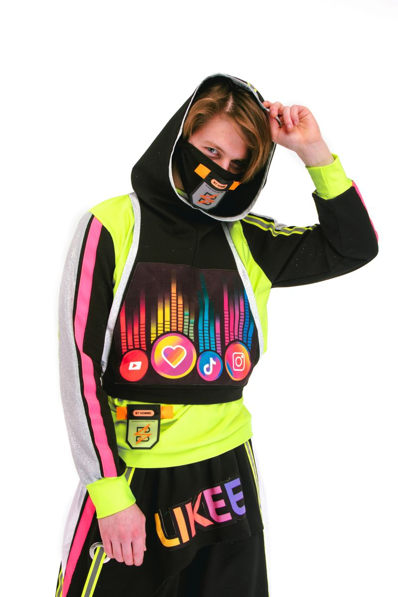 Масочка - «Блогер» карнавальный костюм для аниматора / фото №2945