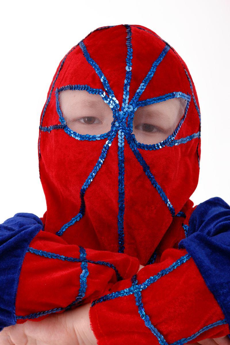 Масочка - «Человек-Паук» карнавальный костюм для мальчика / фото №2978