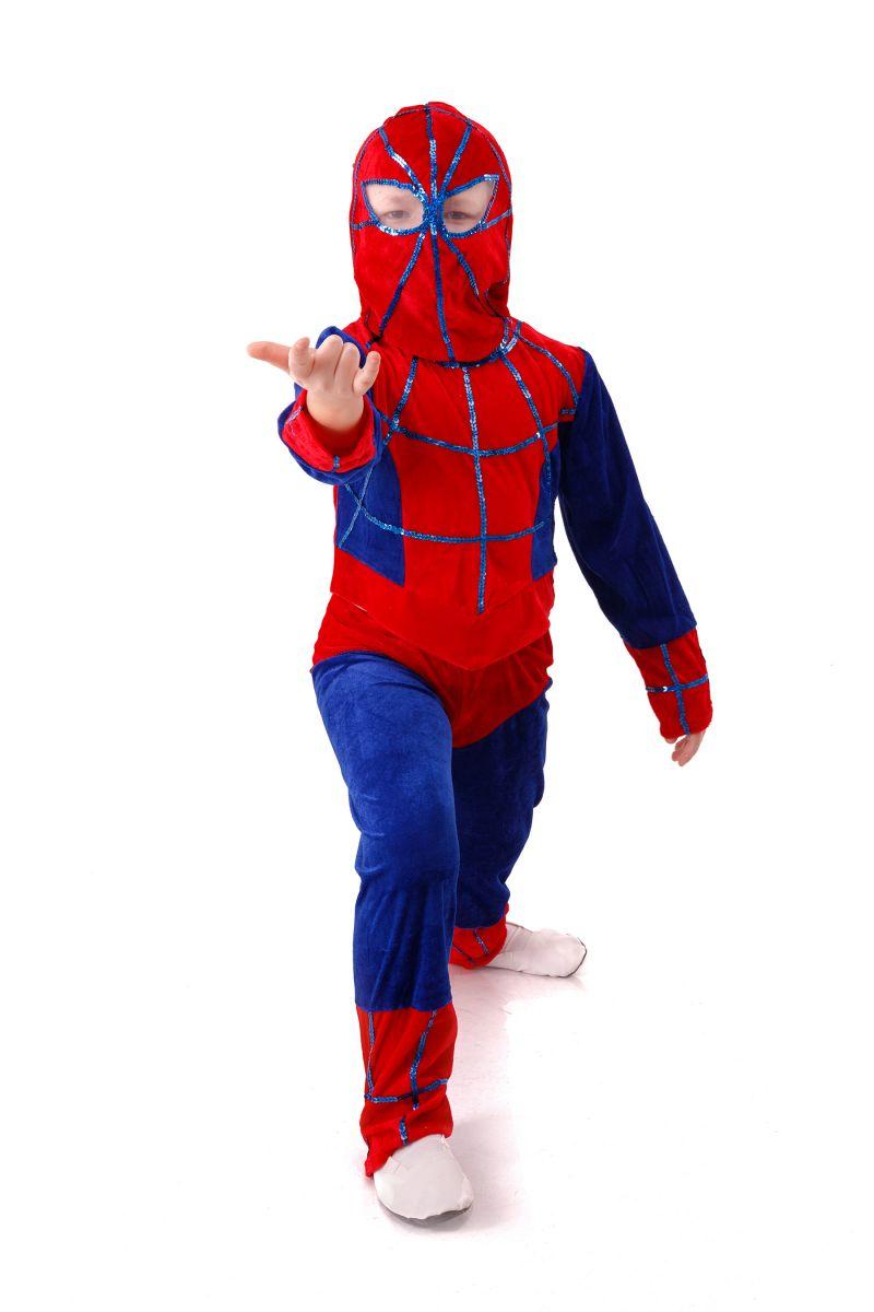 Масочка - «Человек-Паук» карнавальный костюм для мальчика / фото №2979