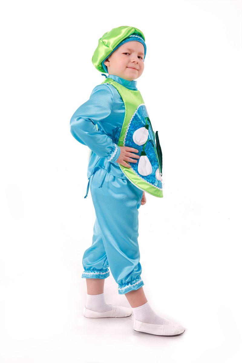 Масочка - «Подснежник» карнавальный костюм для мальчика / фото №2986