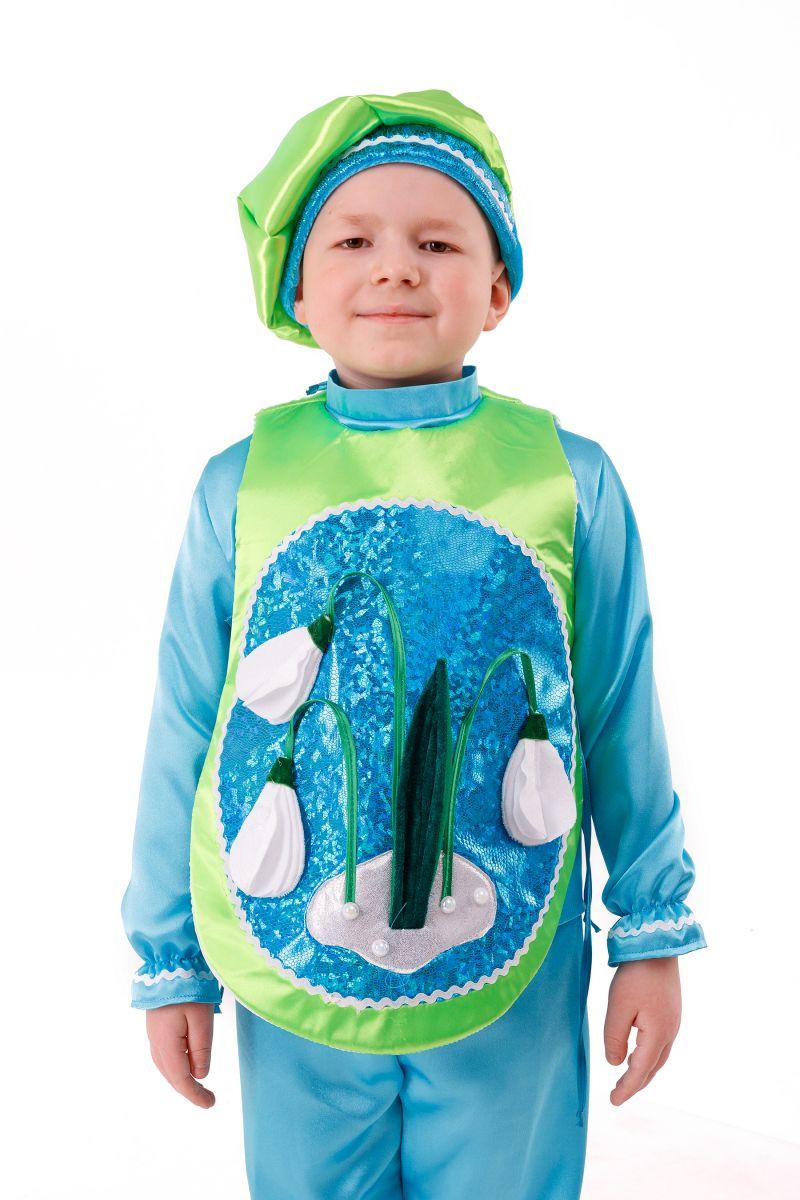 Масочка - «Подснежник» карнавальный костюм для мальчика / фото №2987