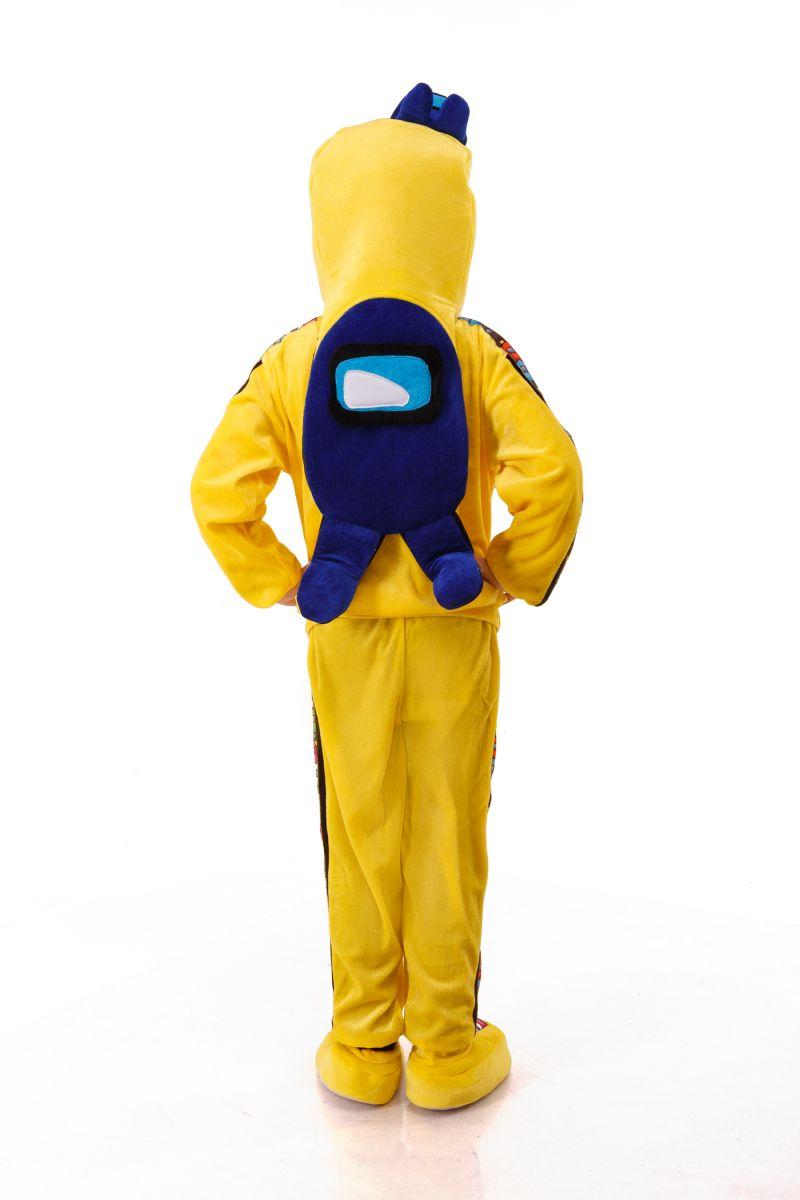 Масочка - Желтый AmongUs «Амонг Ас» карнавальный костюм для детей / фото №3015