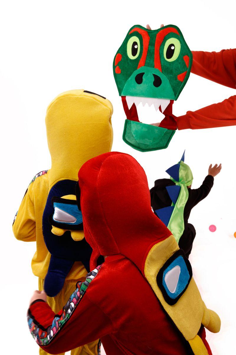 Масочка - «Дракончик» карнавальный костюм для аниматоров / фото №3026