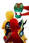 «Дракончик» карнавальный костюм для аниматоров - 3026