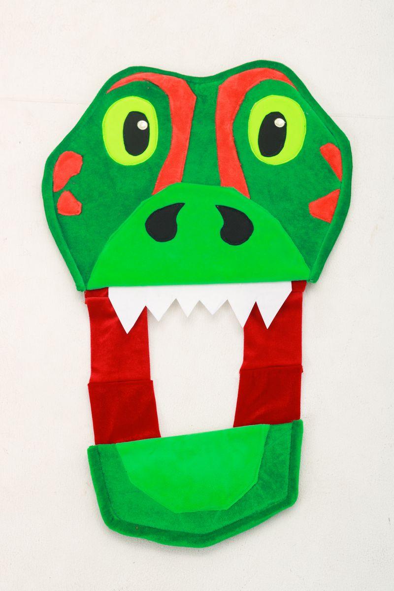 Масочка - «Дракончик» карнавальный костюм для аниматоров / фото №3028