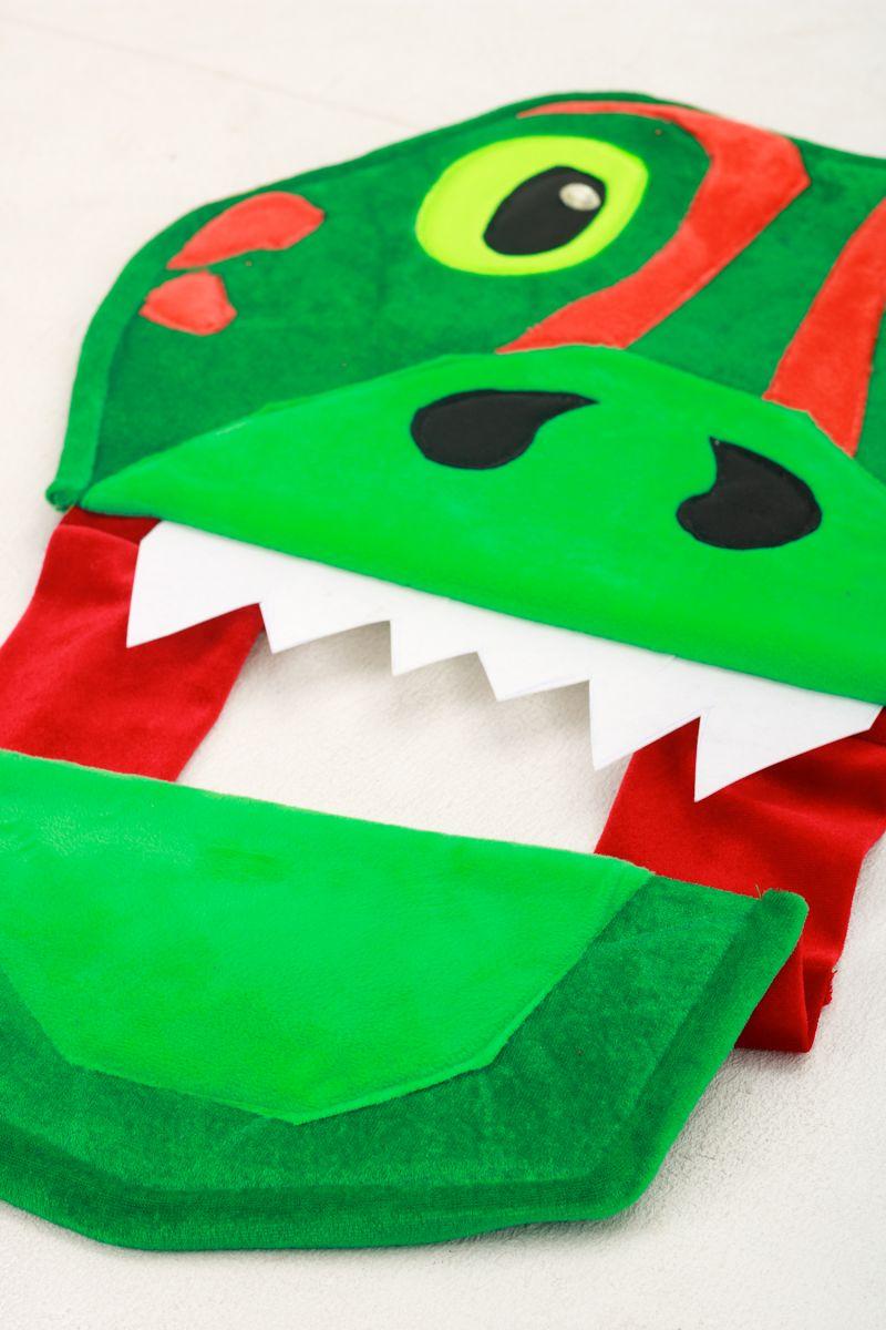 Масочка - «Дракончик» карнавальный костюм для аниматоров / фото №3029